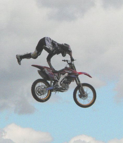 Motor cycle stunt