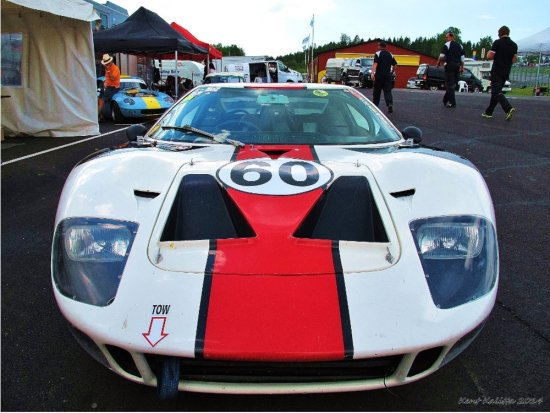 Ford GT40 Replica Skane Sweden Ring Knutstorp May 2014 Front kent0607