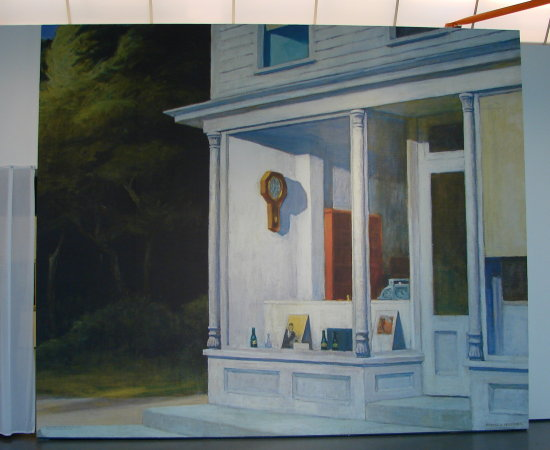 Holland Rotterdam Kunsthal art Edward_Hopper