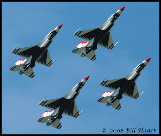 stlouis missouri us usa SAFB sport air show Thunderbirds sky 092008 2008