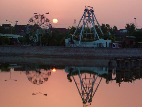 Pakistan Punjab Multan Park Sun Sunset Sunrise