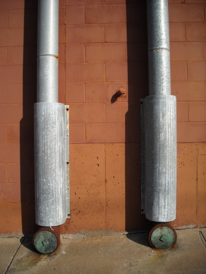 wall pipes