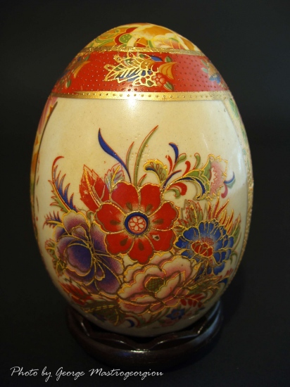 Egg chinese art