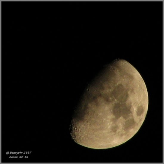 That's the 'positive' of the same moon... As Einstein once said, everything is relative...