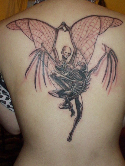 tattoo demon angel tattoos tatoo tatoos