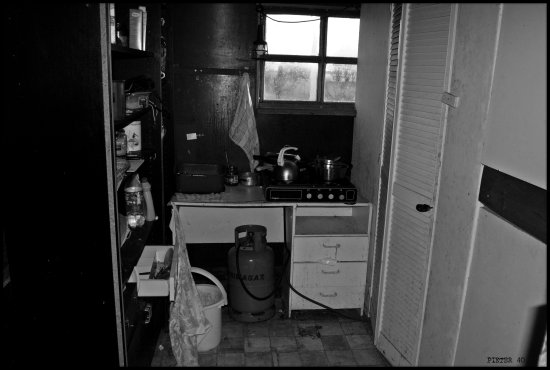 Kitchen FridayThis is the kitchen of an old Farmer but he s not so clean