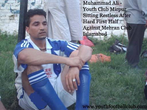 Ali Youth Football Club Mirpur AJK Footballer Player Soccer Ground Pakistan