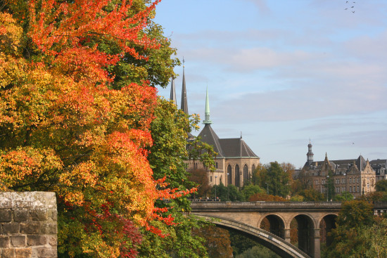 autumnfriday luxembourg city