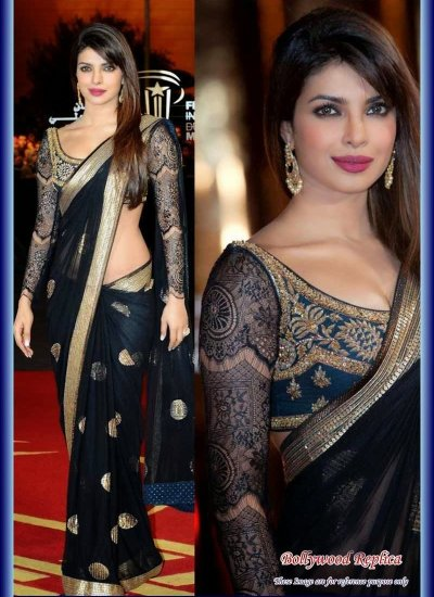 Bollywood saree online shopping usa Latest bollywood replica sarees 2013 India