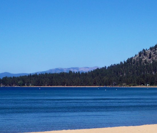 Lake Tahoe- afternoon on beach