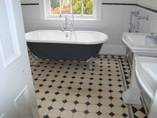 Tiles Victorian Bathroom Floor