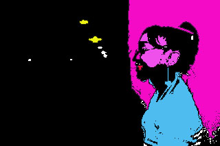 Second try at an Andy Warhol photo