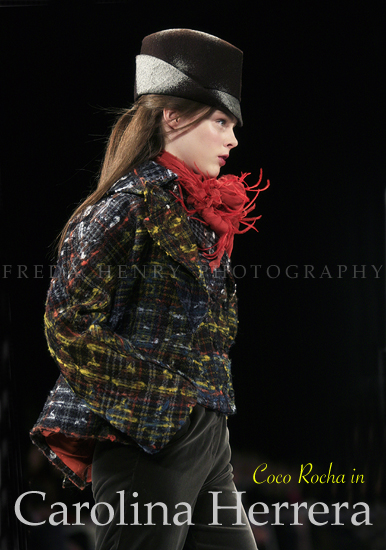 One of my fav super models is Coco Rocha  check her model portfolio at the U-tube http://www.y...