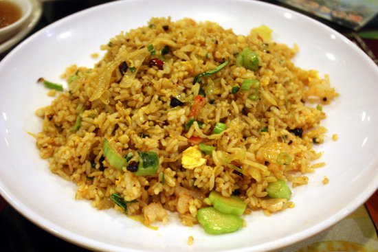 Spicy Seafood Fried Rice
