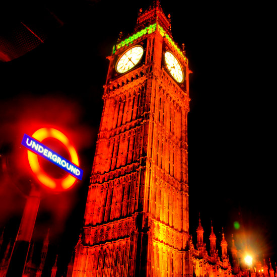Big Ben Underground London UK dotGALLERY