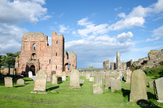 lindisfarne abbey ruins church holy island