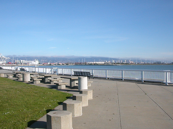 oakportfph oakland port harbor park picnic view