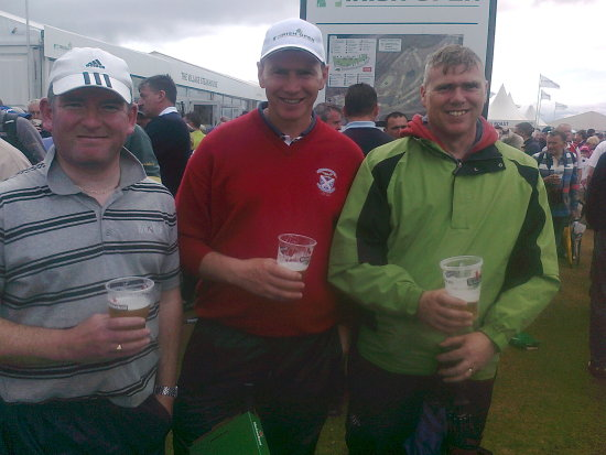 havein a few the irish open