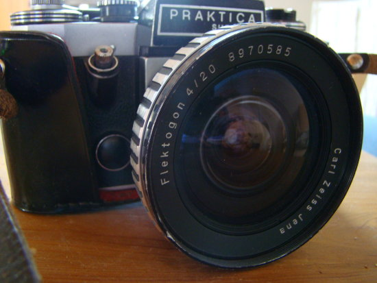 Carl Zeiss Jena DDR Flektogon 420