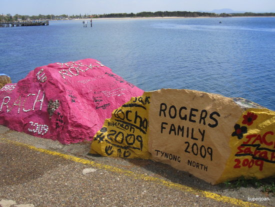 Roger did you beat me to Port MacQuarie