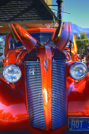 Nikon D70 Cool Mountain Nights Car Show Mount Shasta CA HDR