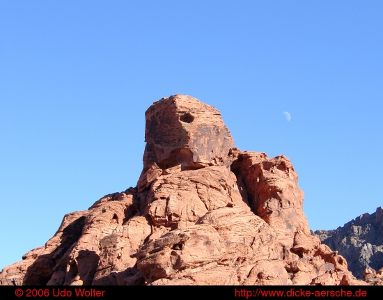 Valley of Fire rock red landscape desert nature moon