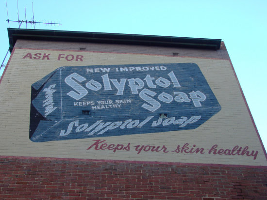 ad soap wall perth littleollie