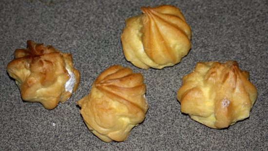 Chinese profiteroles
