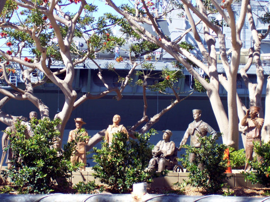 bob hope memorial embarcadero san diego ca