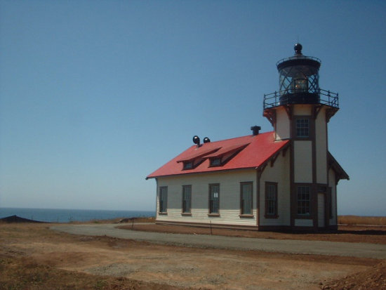 Point Cabrillo Lighthouse, Caspar, CA. Photo taken August 2006