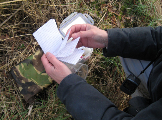 4. (Note the GPS device dangling from Stephen's neck)