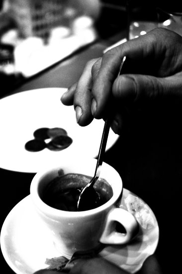 Coffee after the lunch
