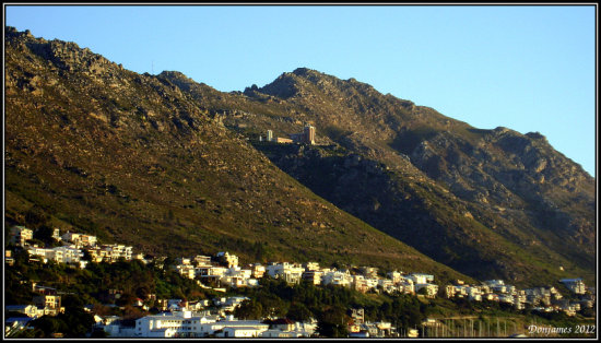 mountains gordons bay south africa