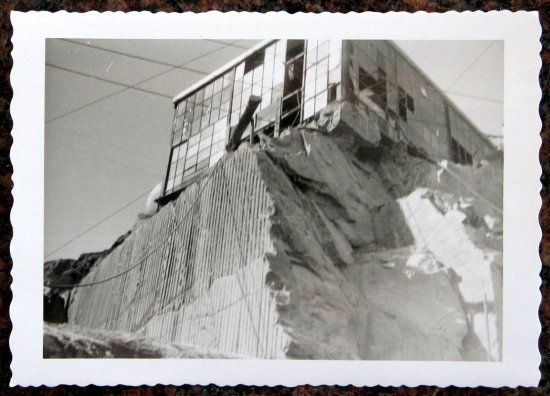 Dimension Stone Quarry Hoist House 1956