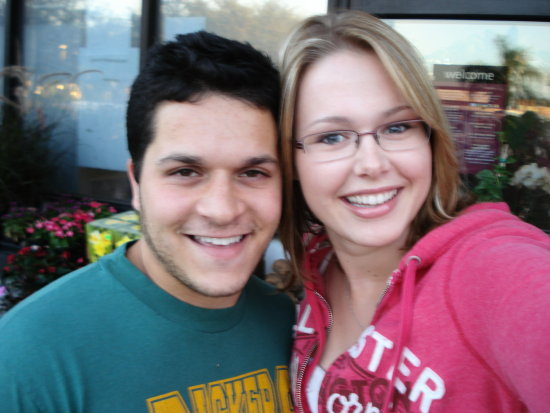 Alex (from Amazing Race!) and Me. I met him at a grocery store in West Hollywood and he bought me...
