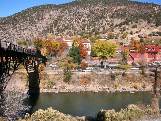 glenwood springs colorado river gsfph bridge hotspring spa spas hotel