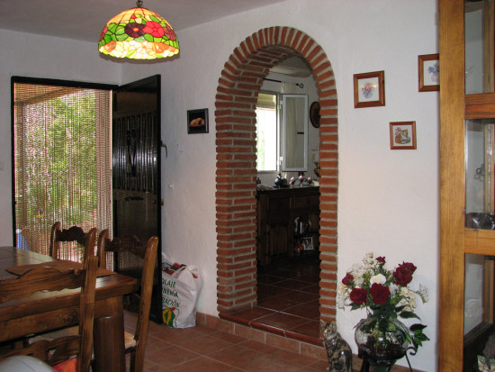 dining room home andalucia spain
