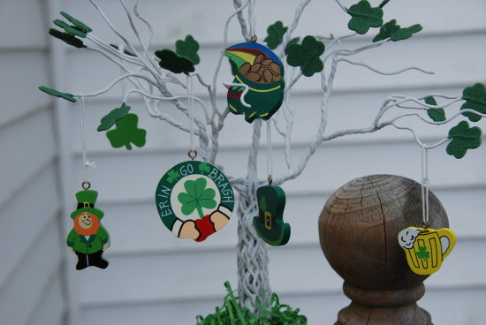 st patricks day tree