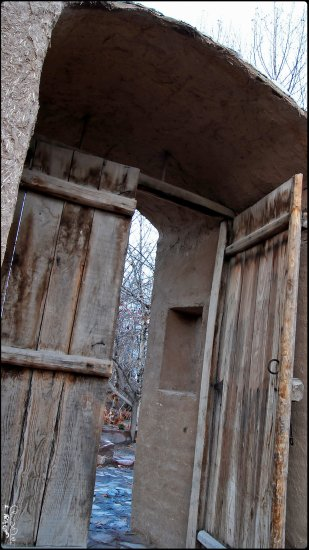 Door Nature Old Wood Persian
