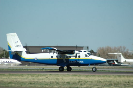 Twin Otter Air Force Academy Aircraft Military