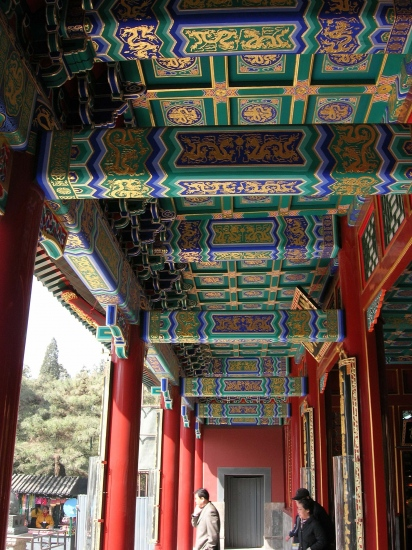 summerpalace lonfcorridor beijing peking china