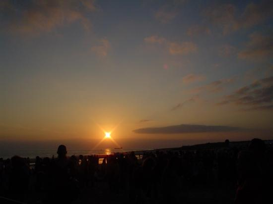 sunset holland netherlands vlissingen concert