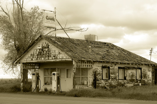 US97 Kent OR gas station