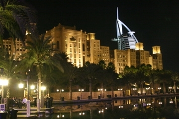 Burj al Arab viewed from The Marina