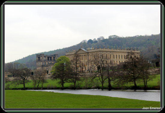 Another view of Chatsworth house