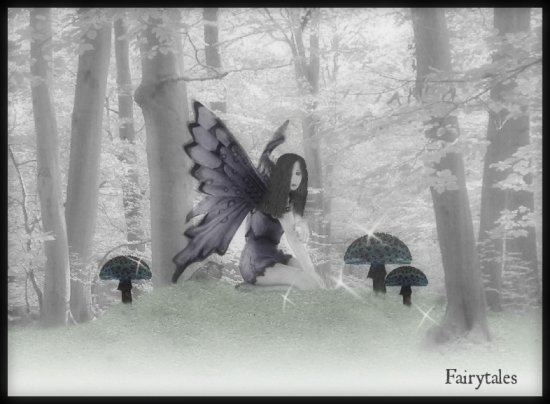 gothic fairy digitalartclub