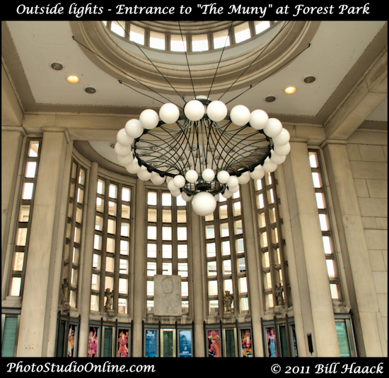 stlouis missouri usa Forest Park GBR Muny lights 091711