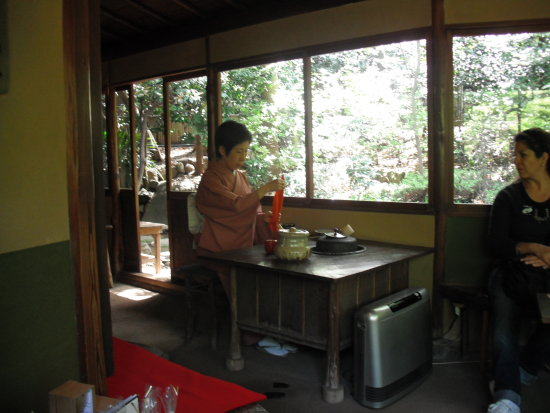 Japanese Tea Making Ceremony