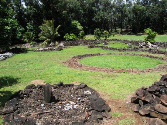 Heiau old shrine