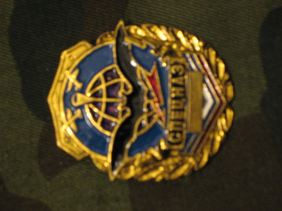 IMGAward insignia Military intelligence